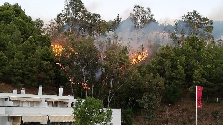 Incendio en Cerrado de Calderón