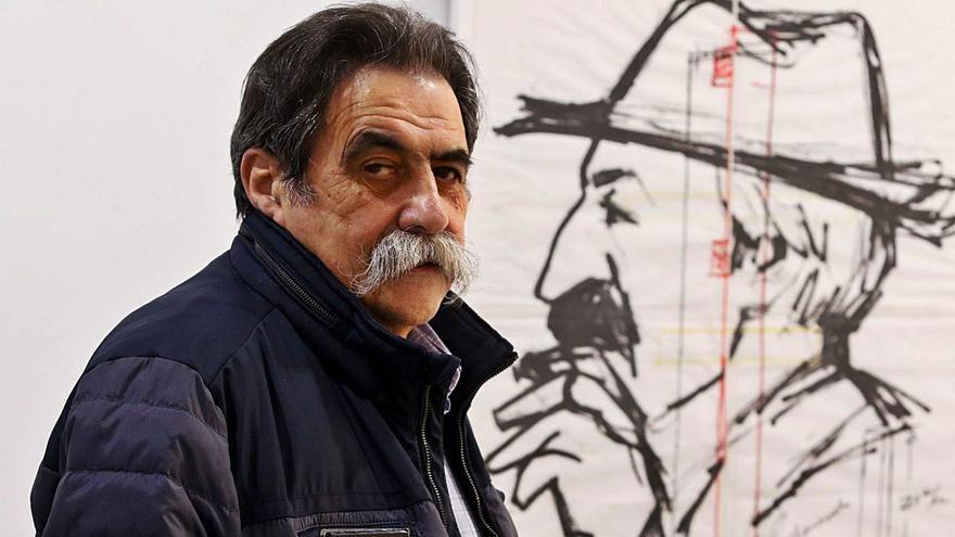 """""""Puedo hacer diez o doce bocetos de un cartel, le doy muchas vueltas a las cosas"""""""