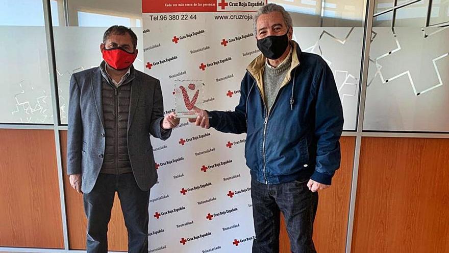 Premio a Cruz Roja por su respuesta a la pandemia