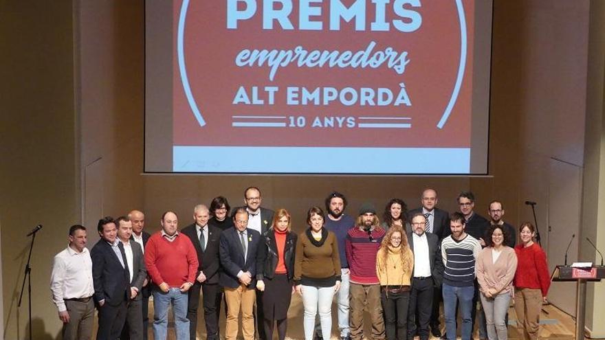 Desena edició dels Premis Emprenedors Alt Empordà