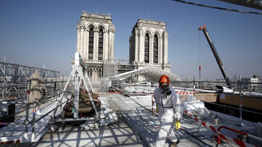Descubre la reconstrucción de Notre Dame en Paris