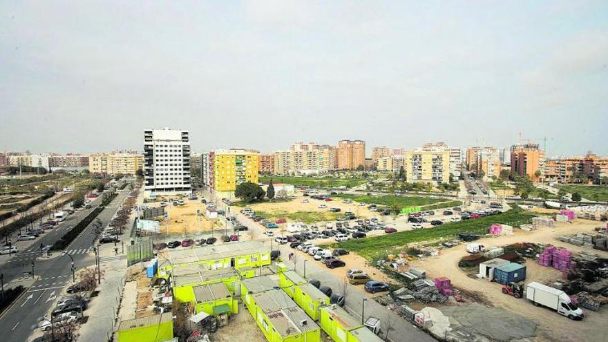 La crisis derrumba un 14 % el precio de los solares de viviendas en Valencia