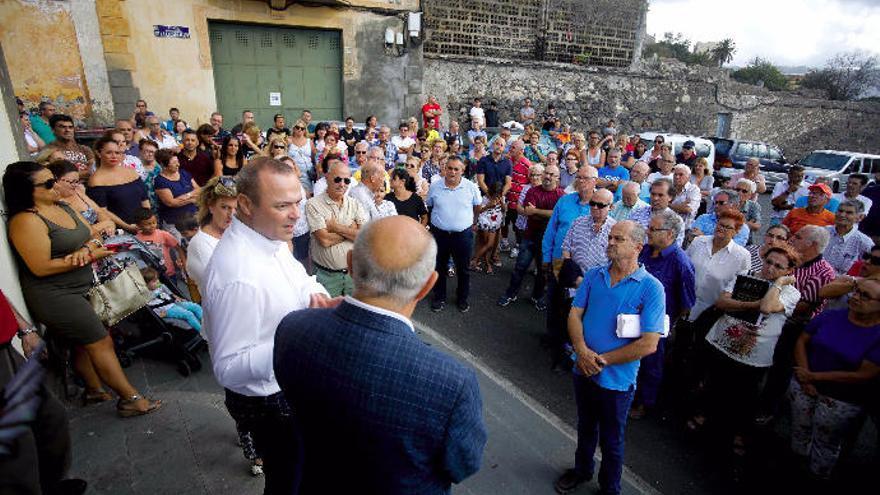 El Ayuntamiento insta a paralizar la obra de la planta de biodigestión de Tenoya