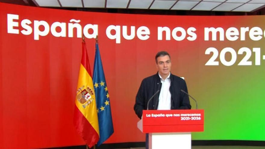 """Sánchez pide anteponer """"la precaución sanitaria a otros propósitos"""" esta Navidad"""