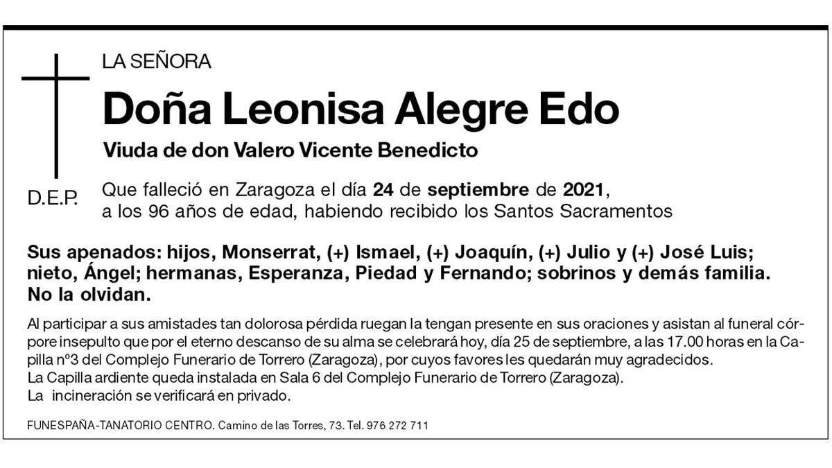 Leonisa Alegre Edo