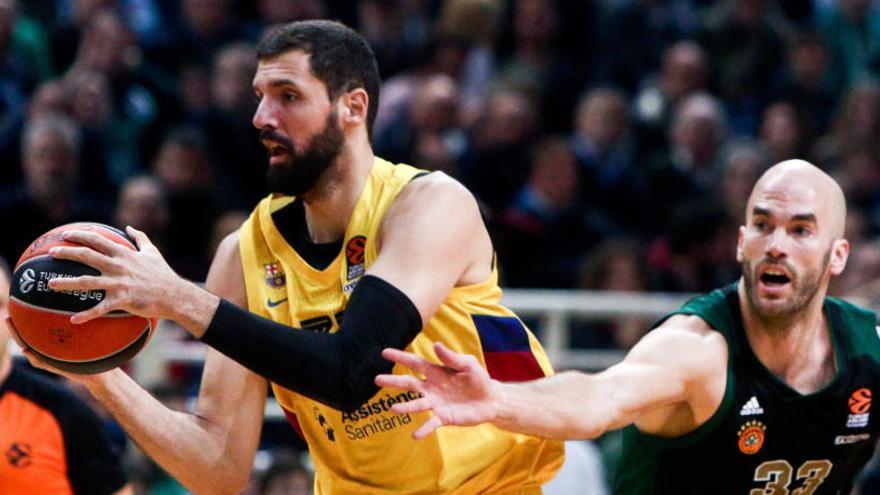 El Barcelona resurge en la casa del Panathinaikos