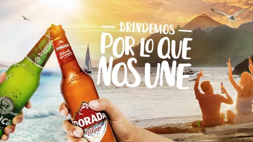 """Dorada y Tropical brindan """"por lo que nos une"""""""