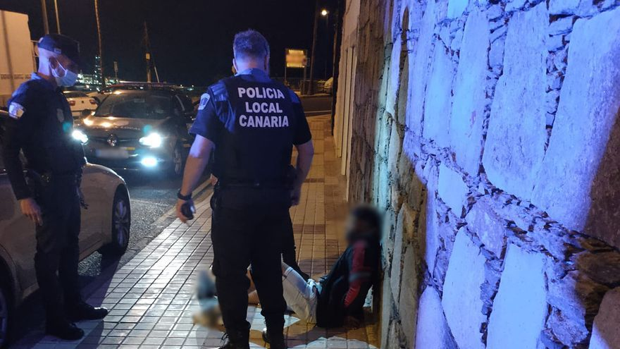 Detenido por huir de la policía a bordo de un BMW por varias calles de Escaleritas