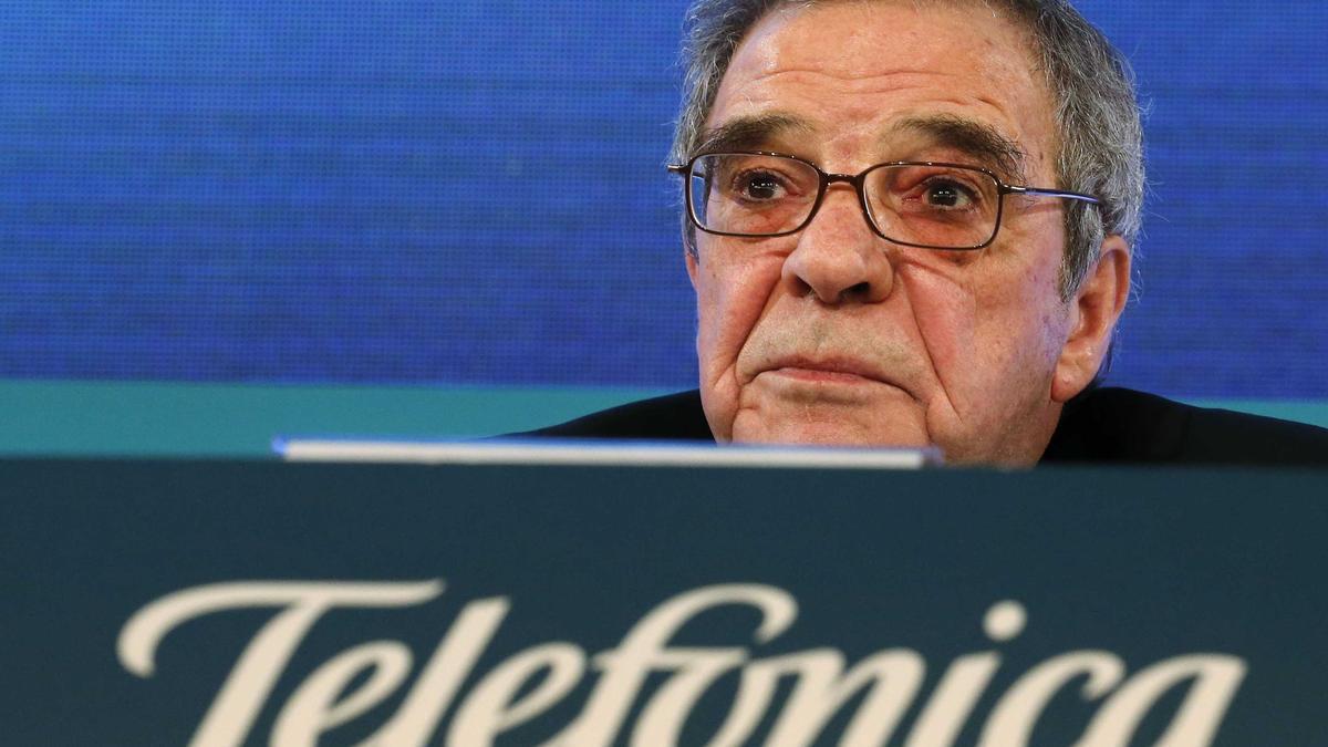 César Alierta, en su etapa de presidente de Telefónica.