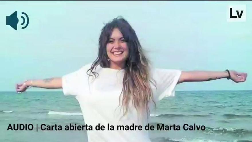 """La madre de Marta Calvo: """"Estos asesinos pueden recibir visitas, pero yo ya nunca veré a mi hija"""""""