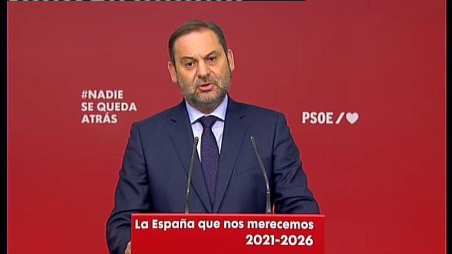 """Ábalos: """"El PP tiene mucho más futuro judicial que futuro político"""""""