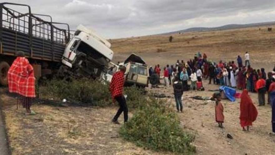 Tres turistes espanyoles moren en un accident de cotxe a Tanzània