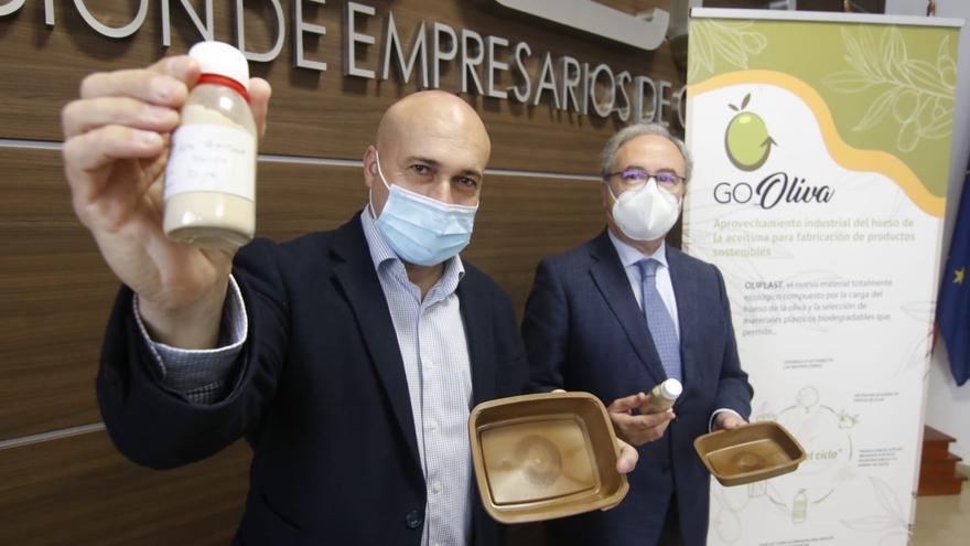 'Oliplast': el plástico del futuro creado en Los Pedroches con huesos de aceituna