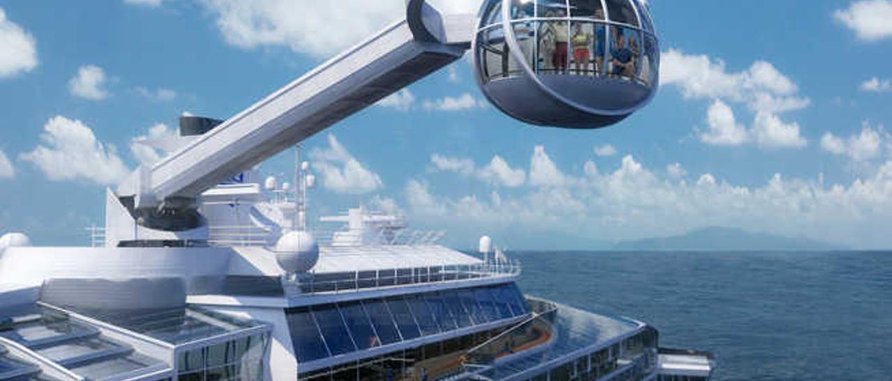 El crucero más moderno del mundo traerá 50.000 turistas al Puerto el próximo invierno