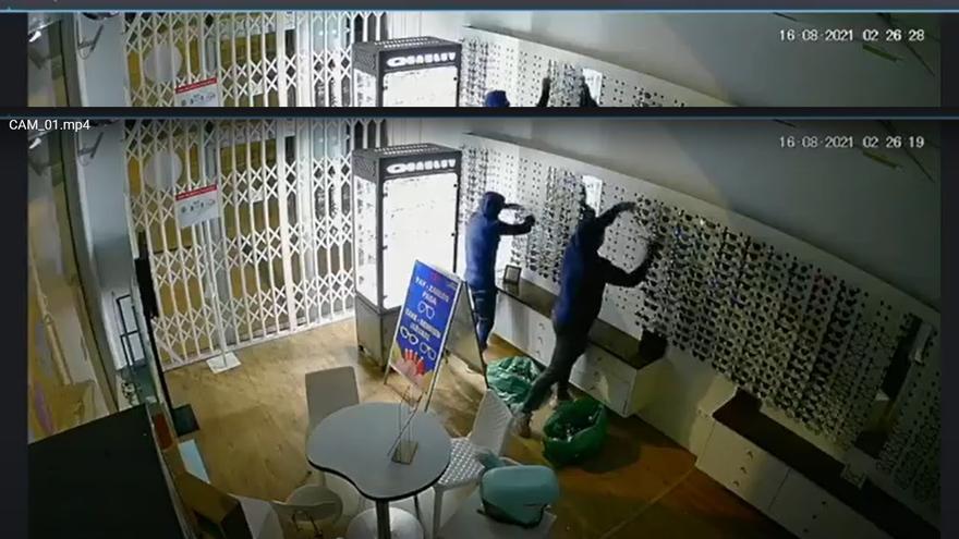 Los ladrones desvalijan por segunda vez una óptica en San Fulgencio