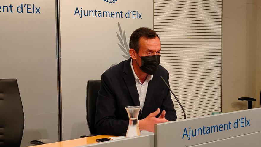 El alcalde de Elche, hospitalizado por una infección renal