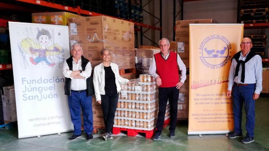 Éxito de la Campaña de Alimentos