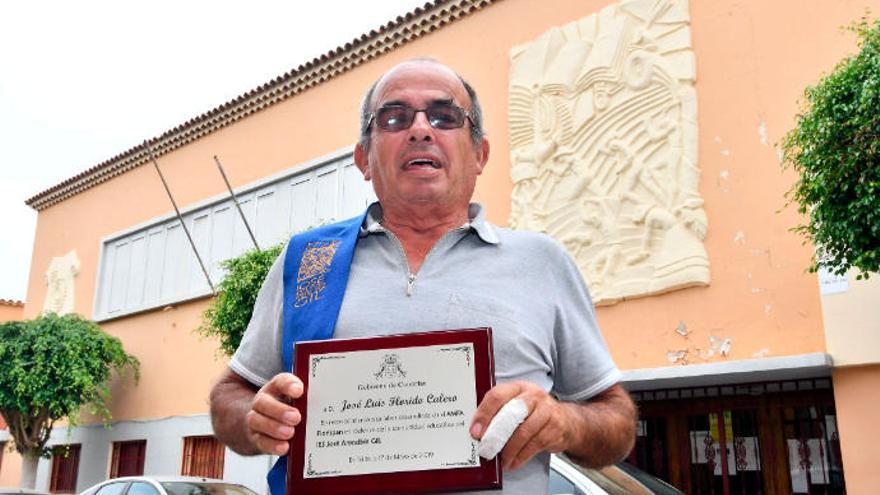 Jose Luis Florido deja el activismo en la educación después de 20 años de luchas