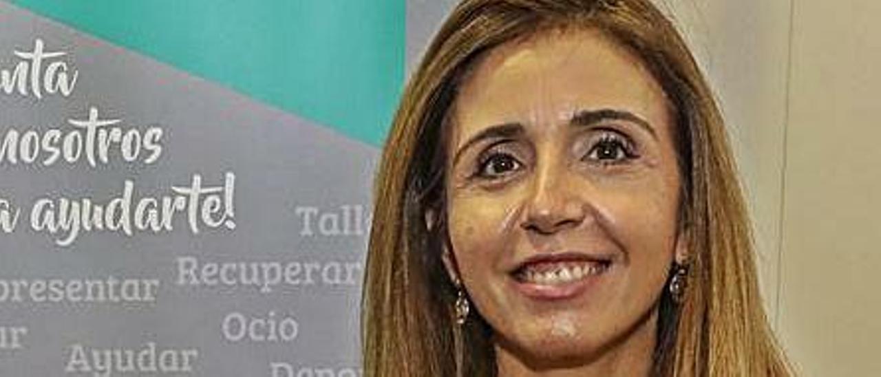 Noelia Aznar, gerente de Asfeme.  |
