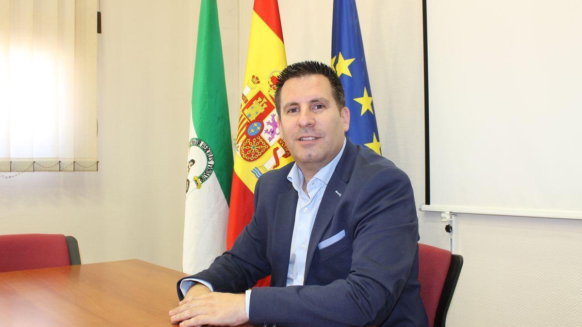 El alcalde de Peñarroya Pueblonuevo, José Ignacio Expósito.
