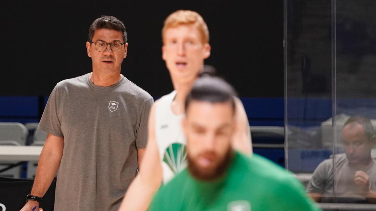 Fotis Katsikaris, entrenador del Unicaja.