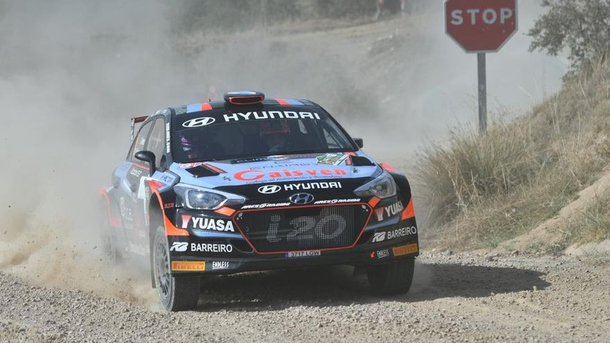 Iván Ares y Jan Solans lucharán por el Rally Ciudad de Pozoblanco