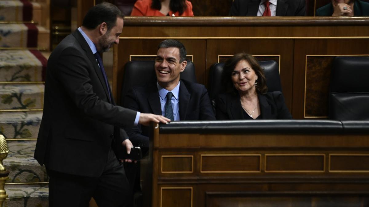 """Ábalos: """"Si resolver el ferrocarril depende del PP, los extremeños van dados"""""""