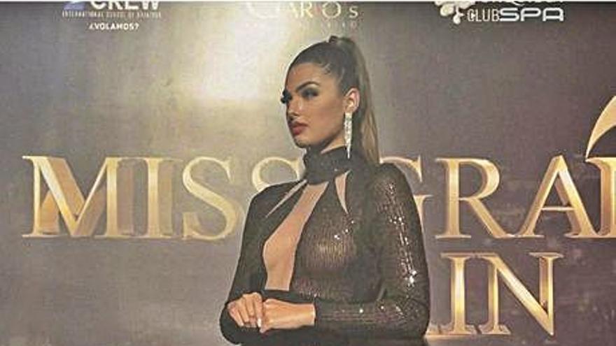 Iris Miguélez, jurado en el Miss Grand Spain 2021