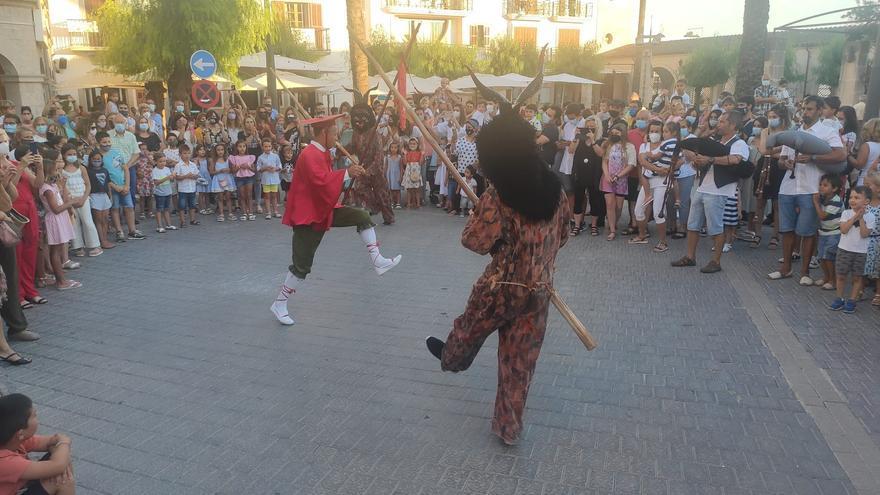 Bailes en honor a Sant Joan