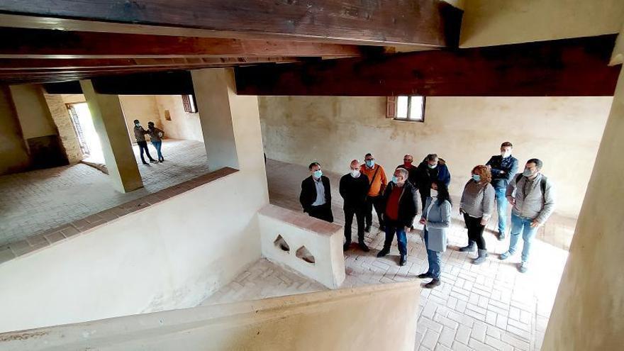 Museo y albergue: Tavernes ya sabe que uso dar al Molí del Pla