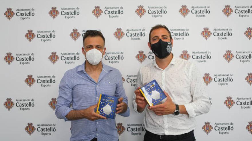 Grupo Zona dona 10.000 mascarillas FFP2 al Patronato de Deportes