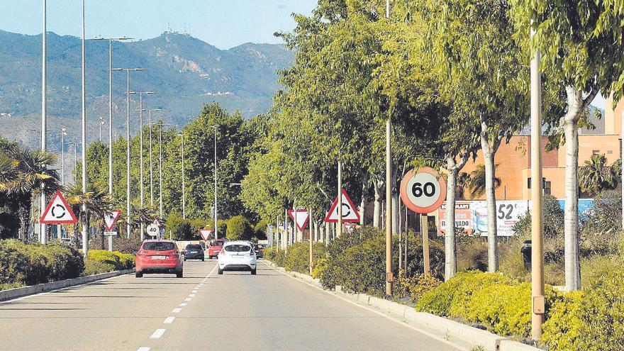 La falta de señales de tráfico para los nuevos límites frena su colocación en Castelló