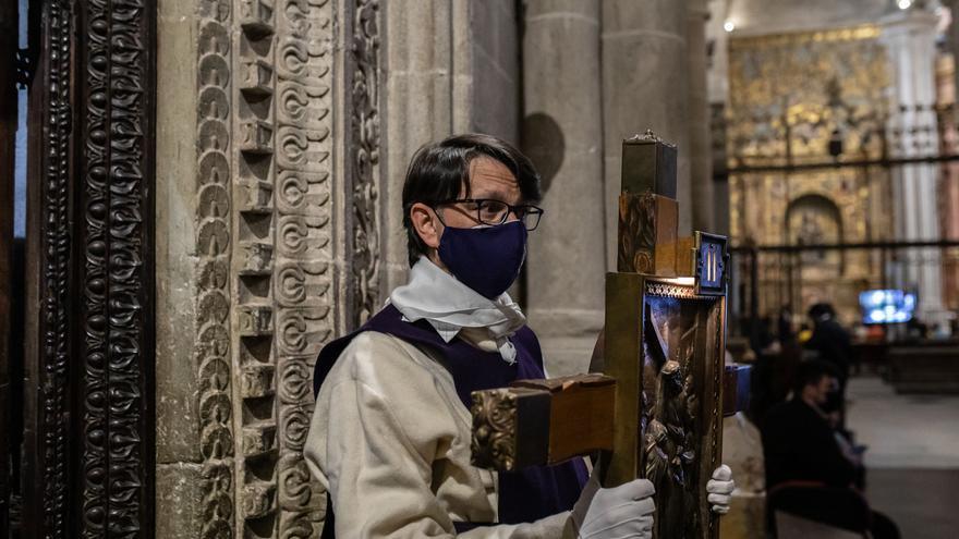GALERÍA | Acto de Jesús del Via Crucis en Zamora