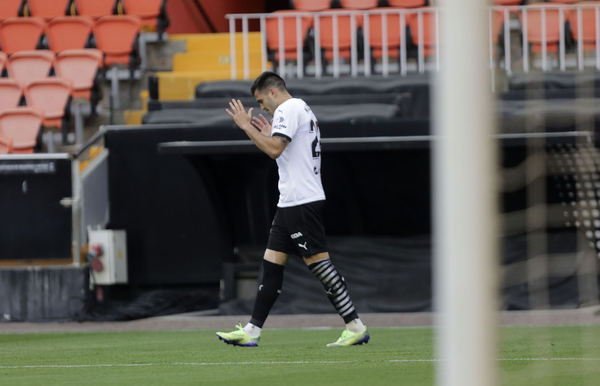 Las imágenes de la victoria del Valencia frente al Valladolid en Mestalla