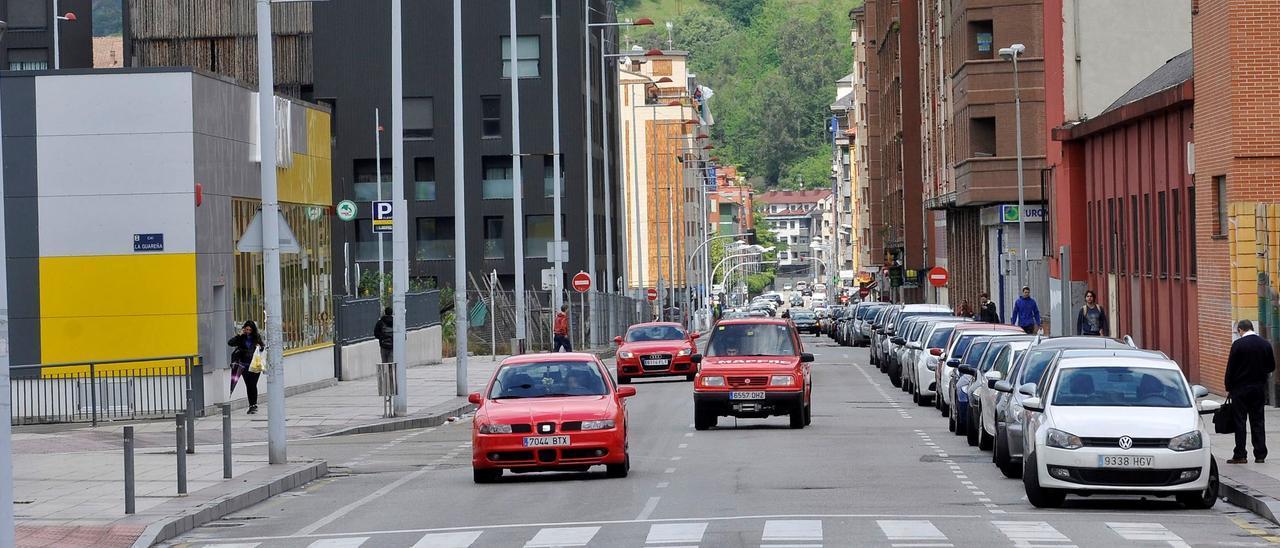 Calle Valeriano Miranda, donde llegará la geotermia