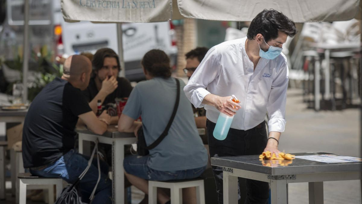 La Región registra en mayo la firma de 1.647 contratos en hostelería