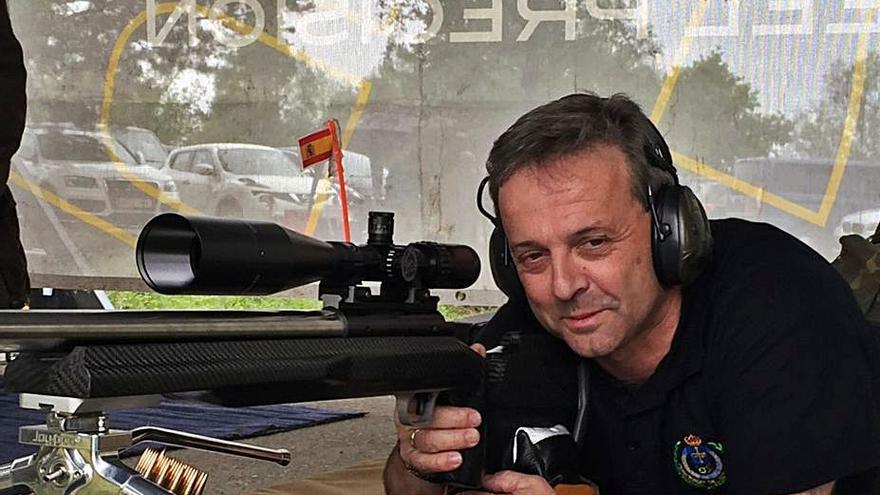 García Cachafeiro, campeón regional de tiro olímpico