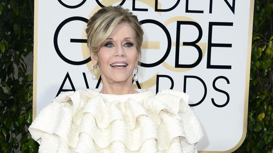 Jane Fonda recibirá el premio honorífico en los Globos de Oro 2021