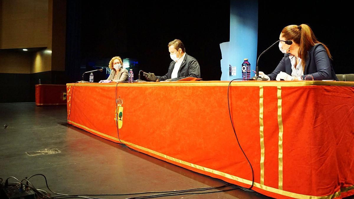 Imagen del pleno de Ayuntamiento de Arona