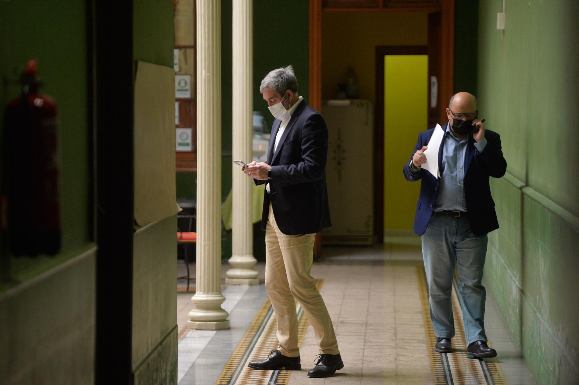 Clavijo y Barragán (CC) valoran el Plan para la Reactivación Social y Económica de Canarias