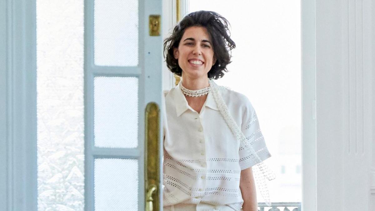 La diseñadora asturiana Carlona Barrera.