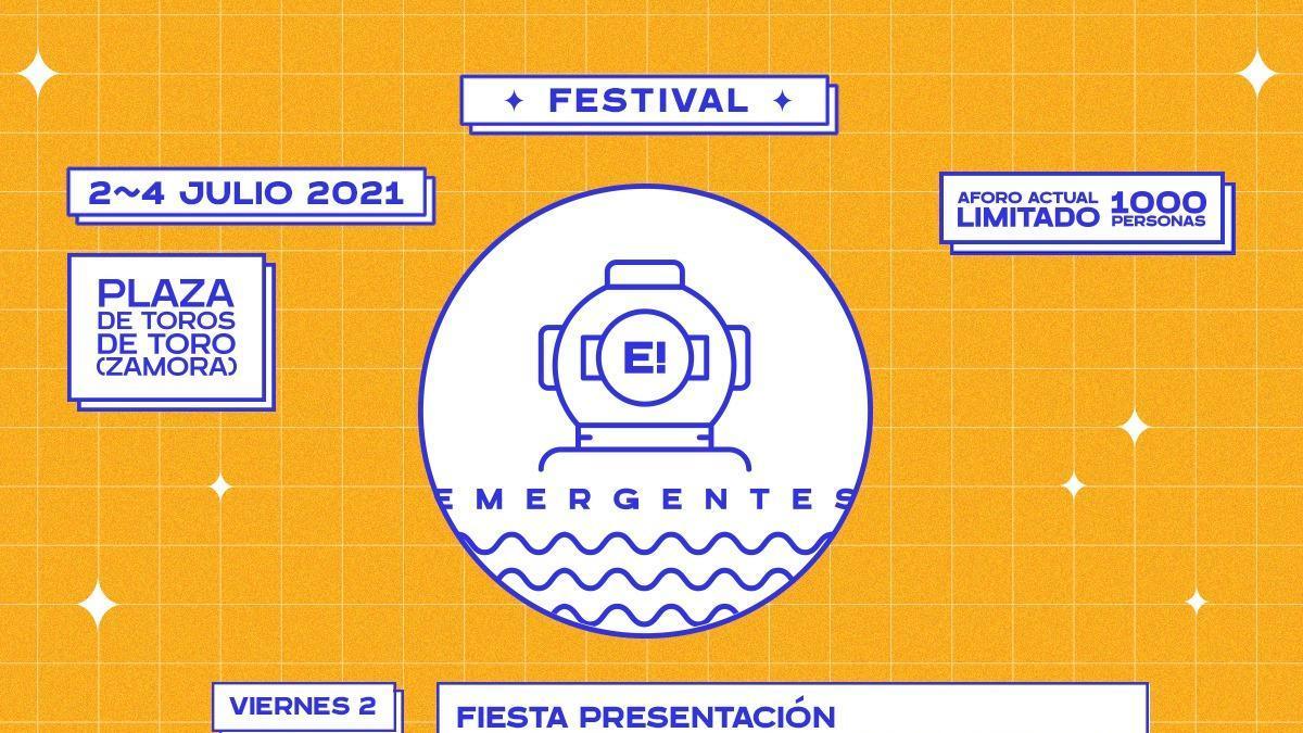 Delaporte, Shinova y Té Canela, en el Festival Emergentes de Toro.