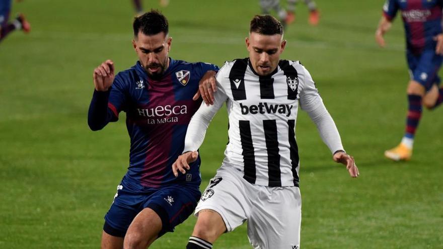 Huesca y Levante empatan y agravan sus problemas