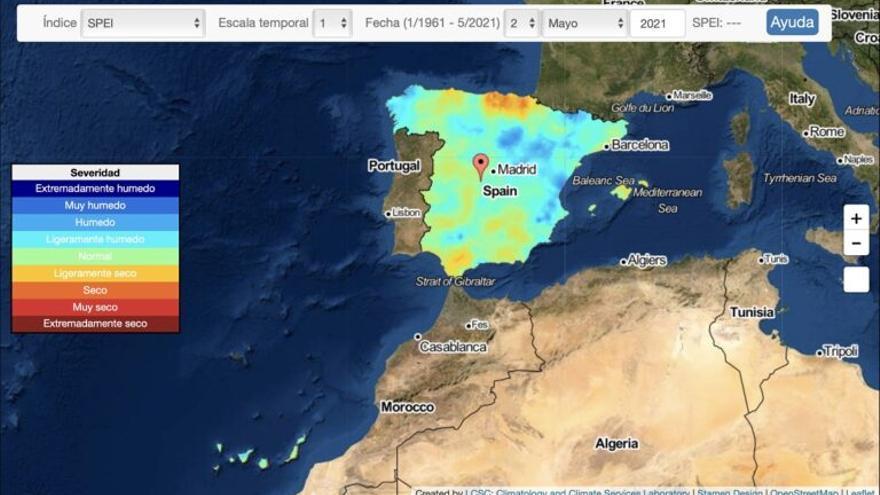 Nuevo sistema para monitorizar la sequía en España en tiempo real