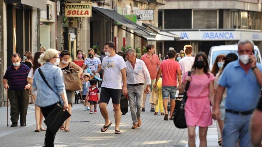 El área de Pontevedra perderá 6.800 vecinos en una década y la edad media subirá a 50 años