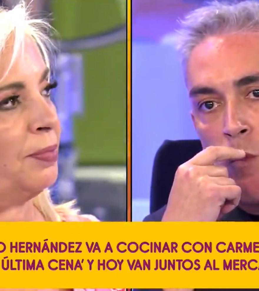 Carmen Borrego cocinará en 'La última cena' junto a su 'enemigo' Kiko Hernández