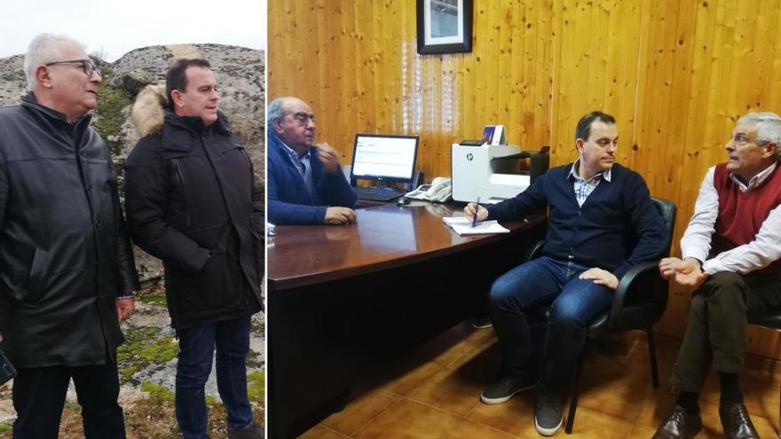 Roelos de Sayago pide un mirador sobre el embalse de Almendra a la Diputación