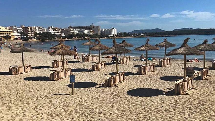 Strandliegen auf Mallorca per Handy reservieren