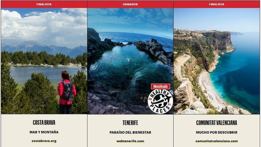 Tenerife, mejor destino nacional saludable según 'Men's Health'