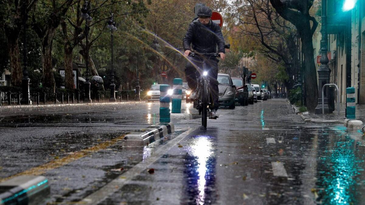 Bajan un 8% las lluvias en España en el último año